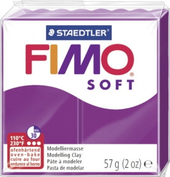 FIMO Soft 56g purpur