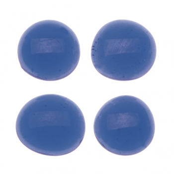 Glasnuggets 200g 20mm blau