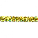 Pailletten gold(holo) ø3mm 8m/Rolle