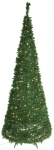 "LED-Tannenbaum ""Pull-Up Tree"" beleuchtet 230cm x 88cm"